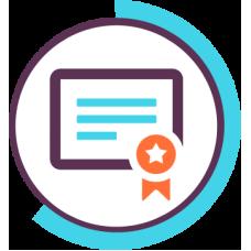 خدمة تصميم شهادة لأي دورة تدريبية أو مادة تعليمية